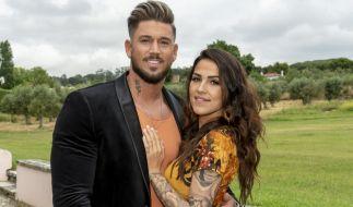 """Die """"Love Island""""-Reality Stars Elena Miras und Mike Heiter. (Foto)"""