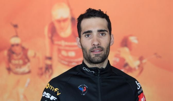 Martin Fourcade privat