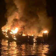 33 Leichen nach Bootsfeuer geborgen - eine Person noch vermisst! (Foto)