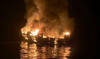 Bei einem Feuer auf einem Ausflugsschiff vor der Küste Kaliforniens sind mindestens acht Menschen ums Leben gekommen. (Foto)
