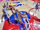 Deutsche Basketballer scheitern in Vorrunde nach Sieg von Frankreich. (Foto)