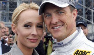 Cora und Ralf Schumacher im Jahr 2008. (Foto)