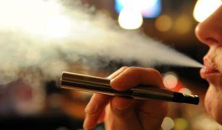 E-Zigaretten stehen schon seit Längerem in der Kritik. (Foto)