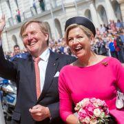 Königin Maxima undKönig Willem-Alexander der Niederlande