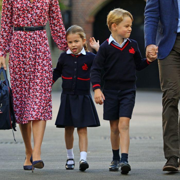 Endlich Schulkind! HIER platzen Kate Middleton und Prinz William vor Stolz (Foto)