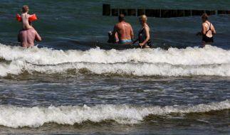Erneut ist eine Person nach dem Baden in der Ostsee an einer Vibrionen-Infektion gestorben. (Foto)