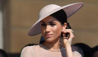 Herzogin Meghan kommt aus der Negativpresse nicht heraus. (Foto)