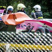 Rennfahrer erleidet Atemstillstand nach Todes-Crash in Formel 2 (Foto)
