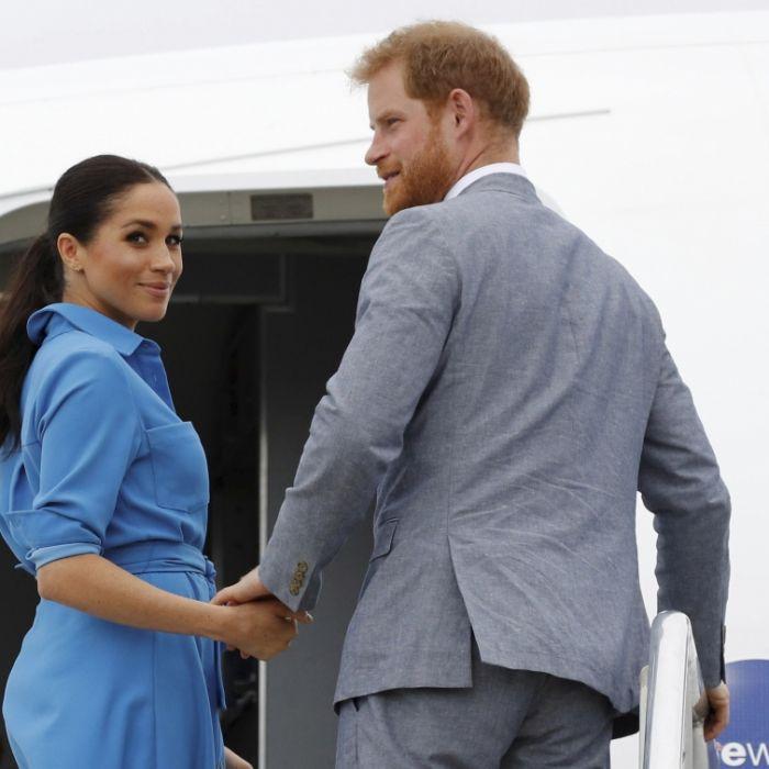 Stress pur! Bleibt Herzogin Meghan noch Zeit für Baby Archie? (Foto)
