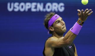 Rafael Nadal in Aktion. (Foto)