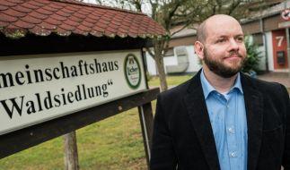 Der NPD-Funktionär Stefan Jagdsch wurde in Altenstadt zum Ortsvorsteher gewählt. (Foto)