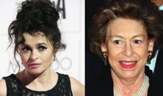 Schauspielerin Helena Bonham Carter soll angeblich mit der verstorbenen Prinzessin Margaret gesprochen haben. (Foto)