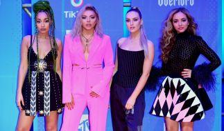 Jesy Nelson (zweite von links) mit ihren Bandkolleginnen von Little Mix. (Foto)