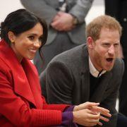 Meghan Markle und Prinz Harry: Ob das Traumpaar auch beim Tanzen überzeugen kann? (Foto)
