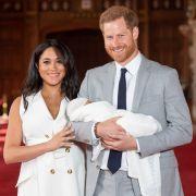Zum Vergleich: Das sind tatsächlich Meghan Markle und Prinz Harry.