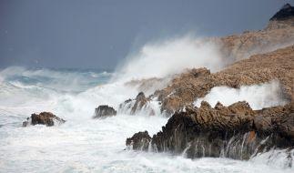 Es wird stürmisch im Mittelmeer. (Foto)