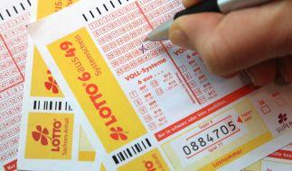 Gewinnzahlen und Jackpot beim Lotto am Mittwoch. (Foto)