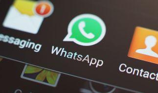 Bei WhatsApp kann man Spiele spielen. (Foto)