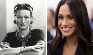 Viele Briten vergleichen Meghan Markle mit Wallis Simpson. (Foto)