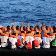 Jeder 4. Flüchtling aus Italien soll nach Deutschland (Foto)