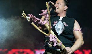 Volks Rock 'n' Roller Andreas Gabalier bei einem Live-Konzert. (Foto)