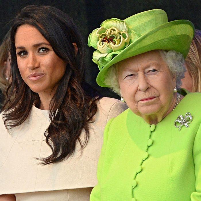 Queen Elizabeth II. wütend! Von Herzogin Meghanwill sie NICHTS wissen (Foto)
