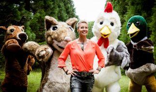"""Wild im Wald"" bei RTL2 mit Sonja Zietlow. (Foto)"