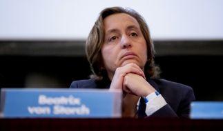 Beatrix von Storch sorgt auf Twitter für Empörung. (Foto)