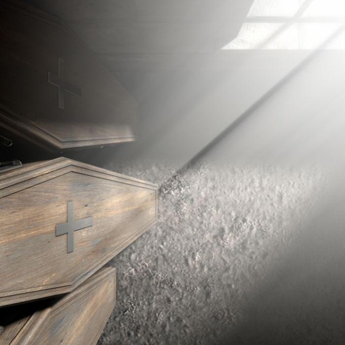 Über 2 Jahre! Sohn versteckte Leiche seiner Mutter im Keller (Foto)