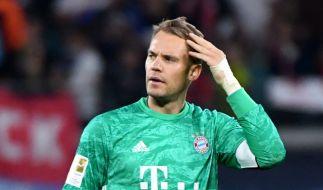 FC Bayern-Torwart Manuel Neuer denkt offenbar über einen Abschied aus der Nationalmannschaft nach. (Foto)