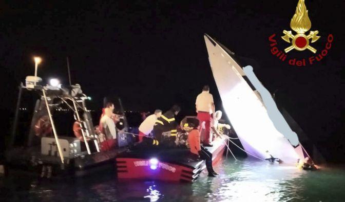 Tödlicher Boots-Unfall in Venedig