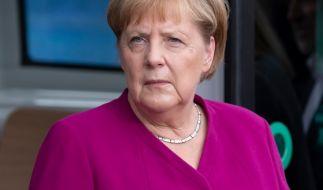 Angela Merkel schockte im Sommer durch einige heftige Zitteranfälle. (Foto)
