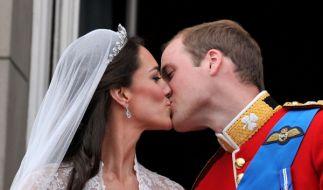 Am29.04.2011 gaben sich Prinz William und Kate Middleton das Ja-Wort. (Foto)