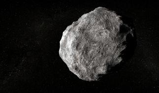 Immer wieder fliegen Asteroiden an der Erde vorbei. (Foto)