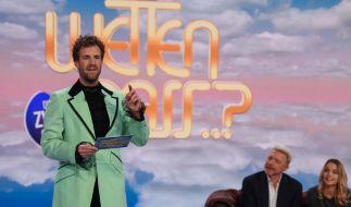 """Luke Mockridge macht in seiner """"Greatnightshow"""" auf """"Wetten, dass..?"""". (Foto)"""