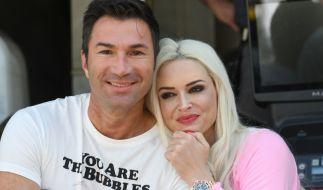 Seit 2014 ein Paar: Daniela Katzenberger und Lucas Cordalis. (Foto)
