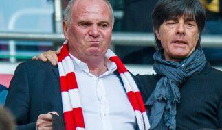 Uli Hoeneß tobte gegen Jogi Löws Torwart-Frage. (Foto)