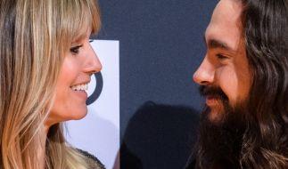 Heidi Klum und Tom Kaulitz strahlt das Liebesglück aus der Pore. (Foto)