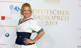 Barbara Schöneberger zeigte den Fotografen beim Deutschen Radiopreis fast zu viel. (Foto)