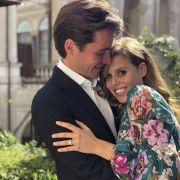 Prinzessin Beatrice von York und Edoardo Mapelli Mozzi sind verlobt - geheiratet wird dem Palast zufolge im Jahr 2020.