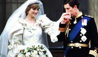 Die Hochzeit von Prinzessin Diana und Prinz Charles am 29. Juli 1981 ging in die royale Geschichte ein. (Foto)