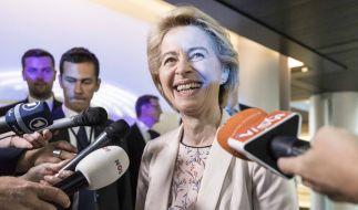 Ursula von der Leyen beginnt am 01. November 2019 ihren neuen Job als EU-Kommissionspräsidentin. (Foto)
