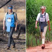 Prinz Harry auf Lady Di's Spuren: 1997 schritt sie durchs Minenfeld! (Foto)