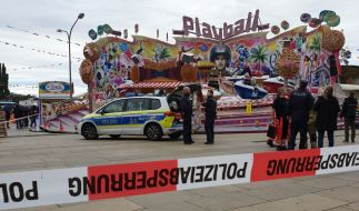 Eine Frau starb auf dem Potsdamer Oktoberfest. (Foto)