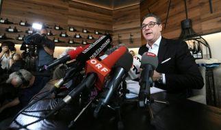 Ex-FPÖ-Chef Strache beendet seine politische Karriere. (Foto)