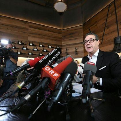 Nach Kurz' Erdrutsch-Sieg! Ex-FPÖ-Chef Strache beendet politische Karriere (Foto)