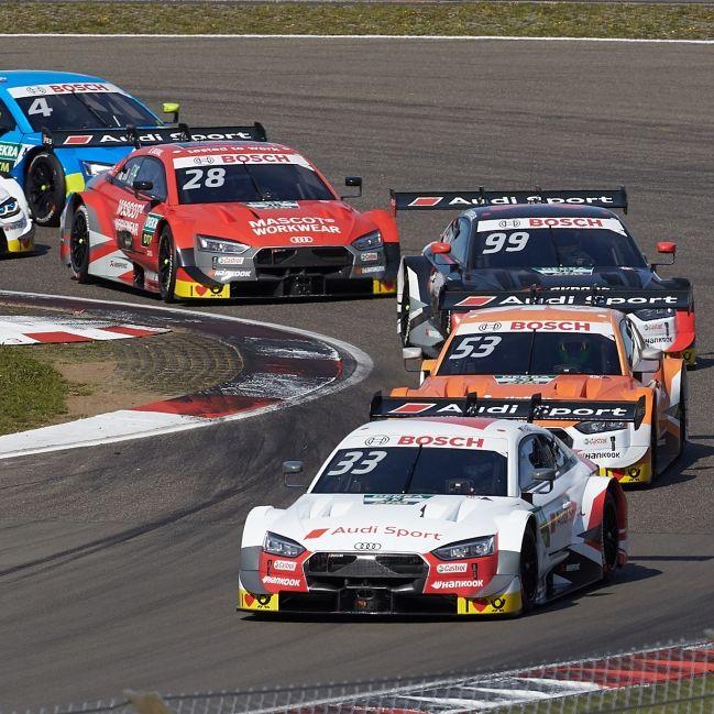 Nico Müller gewinnt DTM-Finale - Champion Rast auf Platz 3 (Foto)