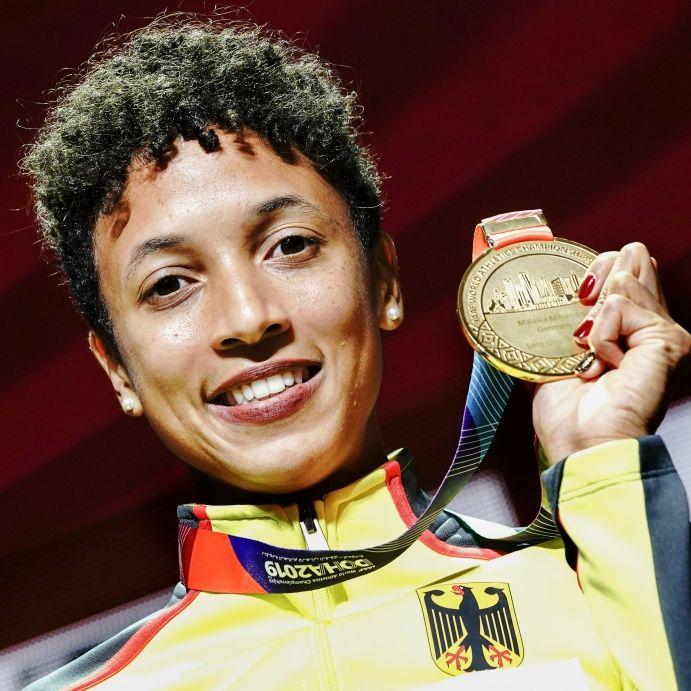 Malaika Mihambo fliegt zu Gold, Speerwerfer Vetter holt Bronze (Foto)