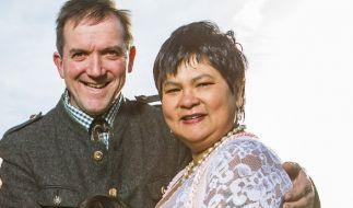 Seit zehn Jahren bereits ein Paar: Narumol und Josef. (Foto)