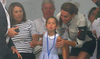 Prinzessin Charlotte kommt wohl mehr nach ihrer Mutter Herzogin Kate als nach Prinz William. (Foto)